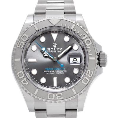 Rolex Yacht-Master 116622 stainless steel rhodium dial 40mm auto watch