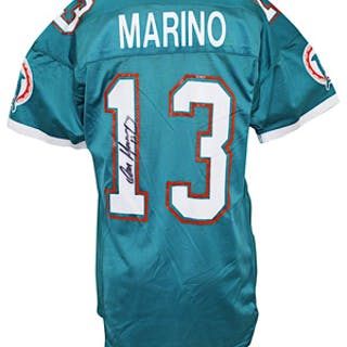 276aa7ac 1989 Dan Marino Miami Dolphins Game-Used & Autographed Jersey (JSA