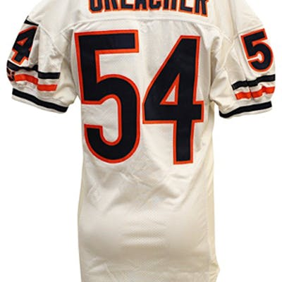 check out 12ee1 39a28 2000 Brian Urlacher Chicago Bears Game-Used & Dual ...