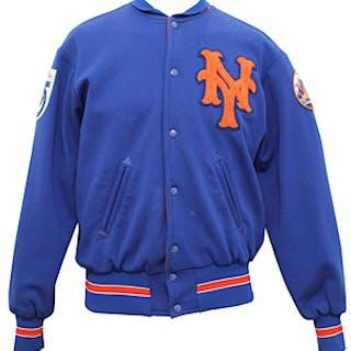 1973 Yogi Berra New York Mets Managers-Worn World Series Jacket (Sourced