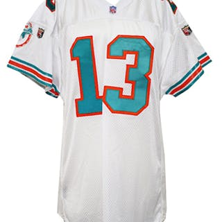 c4e71271 1995 Dan Marino Miami Dolphins Game-Used Jersey
