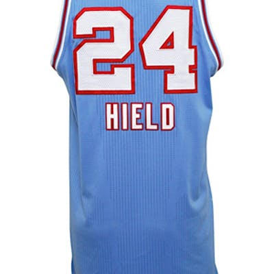 newest b2b78 1c791 2016-17 Buddy Hield Sacramento Kings Game-Used HWC Jersey ...