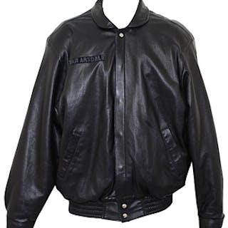 Dick Van Arsdale Phoenix Suns Jeff Hamilton Personal Leather Jacket