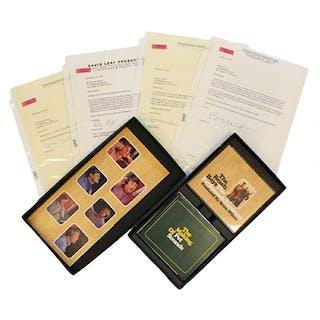 "1996-97 Brian Wilson ""The Beach Boys"" & David Leaf Autographed Letters"