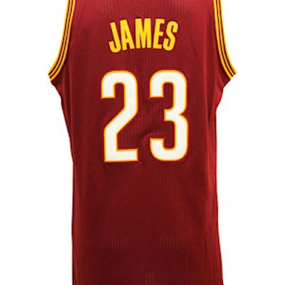 low priced 3ba61 30bde Circa 2015 LeBron James Cleveland Cavaliers Game-Used ...