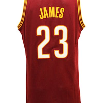 low priced d1e7c e77ed Circa 2015 LeBron James Cleveland Cavaliers Game-Used ...