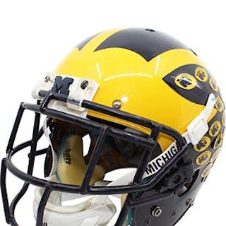 2015 Terry Richardson Michigan Wolverines Game-Used Citrus Bowl Helmet