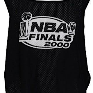 2000 & 2008 NBA Finals Photographer-Worn Sideline Pinnies (3)