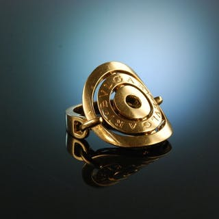 Bulgari! Ring Astrale Gold 750 signiert Größe 50
