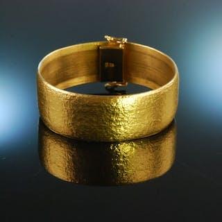 Juwelier Schober München um 1970! Feinstes satiniertes Armband 84,8