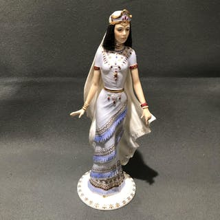 Coalport Bone China Queen of Sheba Figurine