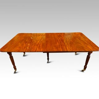 William IV extending dining table