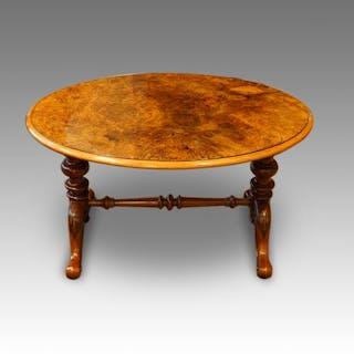 Victorian walnut coffee table