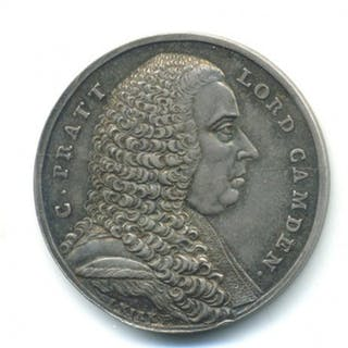 Lord Camden, Silver Portait Medal