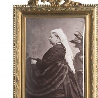 Queen Victoria Enamel Portrait