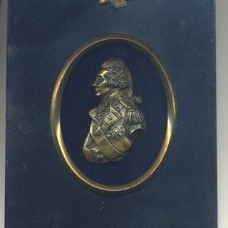 Admiral Lord Nelson, Portrait Plaque