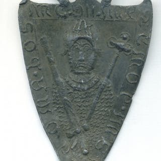 Billy and Charley, Shield Shaped Lead Forgery
