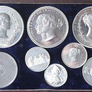 Queen Victoria, Visit to Birmingham, Inauguration of Aston Hall