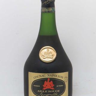 Cognac Napoléon Aigle rouge Brugerolle