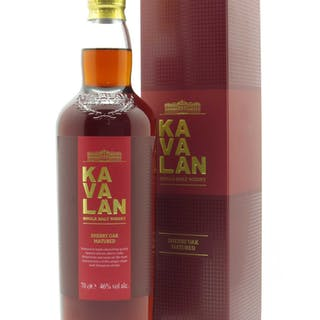 Whisky Ex-Sherry Oak Kavalan (70cl)