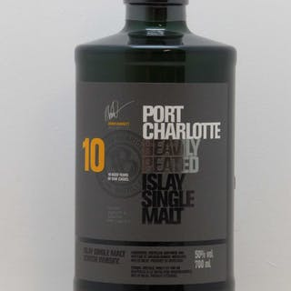 Whisky Port Charlotte 10 aged years (70cl)