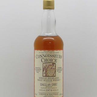 Whisky Dallas Dhu (18 ans) 1974