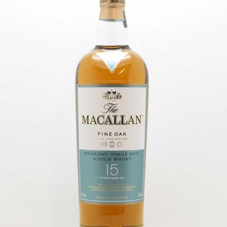 Whisky Fine Oak 15 years Old The Macallan (70cl)