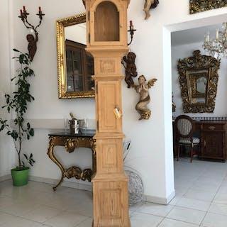 hübscher Naturholz Uhrenkasten Standuhr Kasten X2001