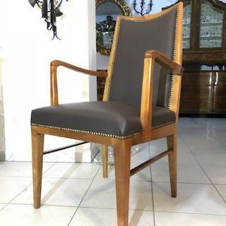 Restaurierter Thonet Stuhl Sessel Schreibtisch Armlehnstuhl Designerstuhl W3578
