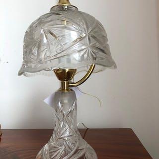 Jugendstil Kristallglas Stehlampe Tischlampe Z1520