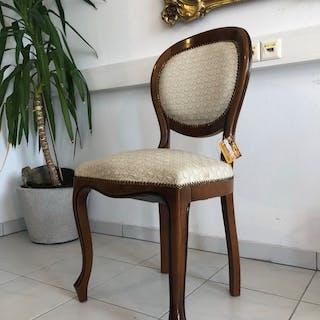 hübscher Stuhl Sessel Barockstil Medaillonsessel Z1442