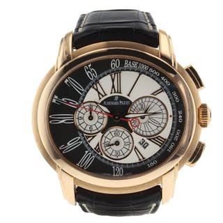 Audemars Piguet Millenary 26145or.oo.d093cr.01 Very Good Condition Mens Watch