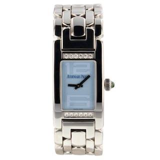 Audemars Piguet Promesse Steel Diamonds Watch 67259ST.ZZ.1156ST.03 Box Papers