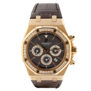 Audemars Piguet Royal Oak Chrono 39mm Brown Watch 26557OR.ZZ.D098CR.02