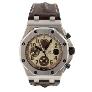 Audemars Piguet Royal Oak OffShore Chronograph Brown Watch 26470ST.OO.A801CR.01