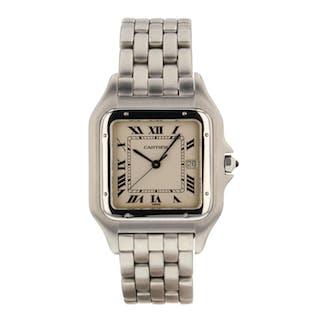 Cartier Panthere Jumbo Steel 29 mm Quartz Vintage Watch 130000C Mint