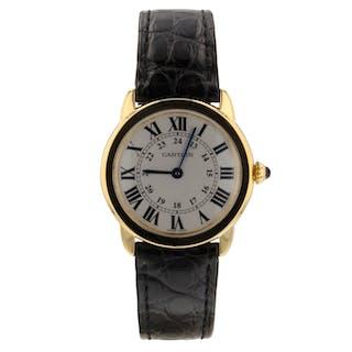 Cartier Ronde Solo Ladies 18K Rose Gold Watch Quartz 29.5 mm Watch W6701007 Box