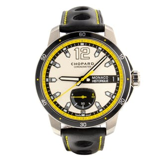 Chopard Grand Prix de Monaco Automatic Self Wind Power Res Date Mens