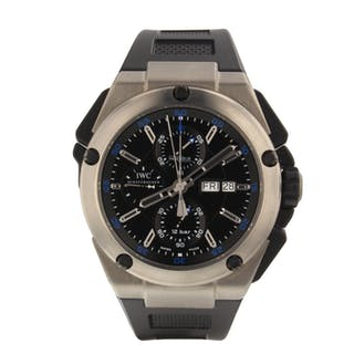 IWC Ingenieur Chronograph Automatic IW386503 Very Good Condition Mens Watch