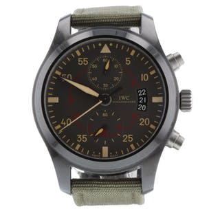 IWC Pilots Chronograph Automatic IW388002 Very Good Condition Mens Watch