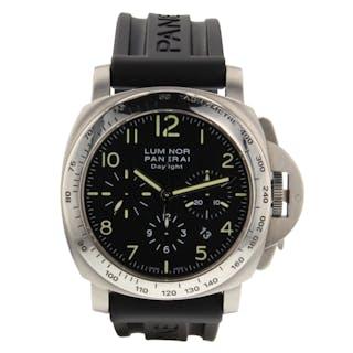 Panerai Luminor Chronograph Daylight Watch PAM00236 PAM 236 Circa 2005 H Series