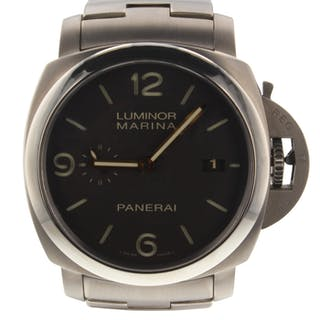 Panerai Luminor Marina 3 Days Automatic 44 mm Titanium Watch PAM00352 PAM 352