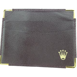 Rolex Parts & Accessories Exclusive & Collectible Black Leather gold