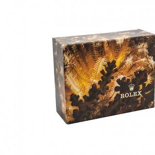 Very Rare Vintage Rolex BOX 13 x10 x 5cm Ref 100001