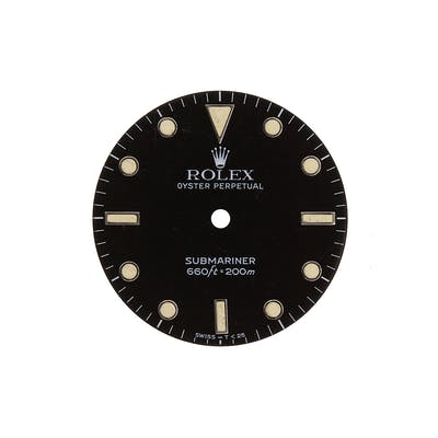 Rolex Parts & Accessories Submariner Transitiona cream Dot ref 14060