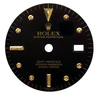 Rolex Parts & Accessories RARE GLOSSY ROLEX GMT MASTER GILT YELLOW