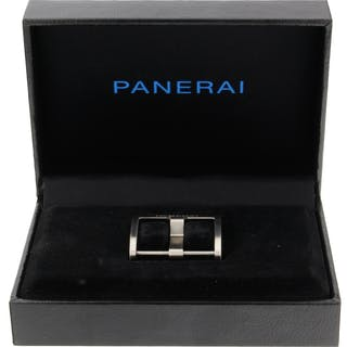 Panerai Parts & Accessories Original Factory Brushed Tang Buckle 22x22mm