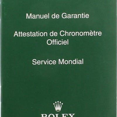 Rolex Parts & Accessories RARE COLLECTABLE SERVICE BOOKLET REF. 563.81