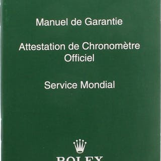Rolex Parts & Accessories RARE COLLECTABLE SERVICE BOOKLET REF. 563.81