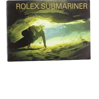 Rolex Parts & Accessories CIRCA 2005 COLLECTABLE Submariner Manual